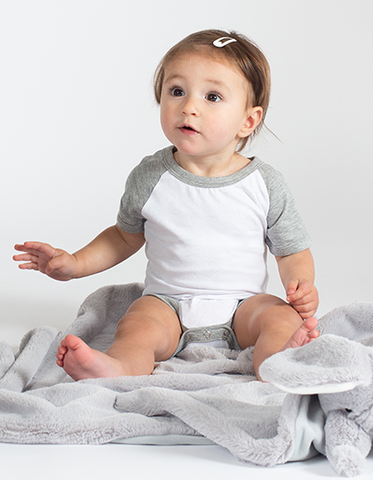 Essential Short Sleeved Baseball Bodysuit